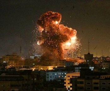 ادامه حملات اسرائیل به غزه و پاسخ مقاومت فلسطین