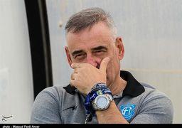 بالاخره یک مربی برکنار شده لیگ برتری هم با صلح و صفا رفت! + عکس