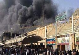 جزییات آتشسوزی هتل زائران ایرانی در نجف / 40 زائر روانه بیمارستان شدند