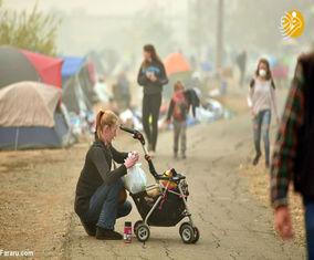 تصاویر جدید از آتشسوزی کالیفرنیا