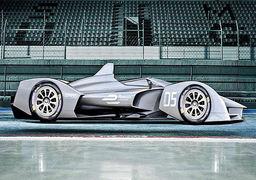 خودرو آینده نگر برای مسابقات فرمول الکتریک + عکس