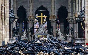 داعش: پس از آتش سوزی کلیسای نوتردام منتظر بعدی باشید!