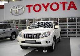 فروش جهانی خودروهای تویوتا 41 درصد کاهش یافت