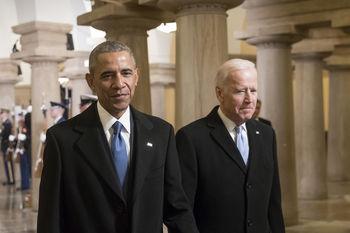 شوخی اوباما با حضورش در کابینه بایدن: میشل مرا ترک می کند