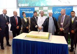 افتتاح دومین خط هواپیمایی عمانی در مسیر مسقط - تهران