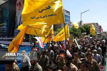 تصاویری از راهپیمایی روز قدس تهران