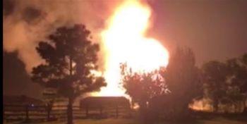 انفجار مهیب در آمریکا+ فیلم