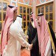 پادشاه و ولیعهد سعودی با خانواده خاشقجی دیدار کردند+عکس