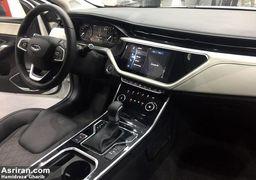 تست خودرو جدید چینی در خیابان های تهران +تصاویر