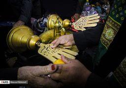 تصاویری از آیین سنتی «علمبندان» در بیرجند