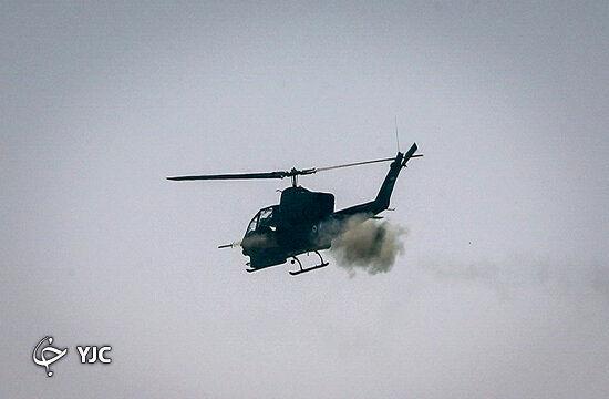 بالگرد شاهد ۲۸۵ ضامن امنیت آسمان ایران + فیلم و تصاویر