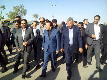 سفر رئیس دفتر رئیسجمهور به استان سمنان