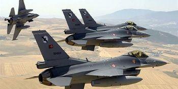 حمله ترکیه به انبار تسلیحاتی پکک