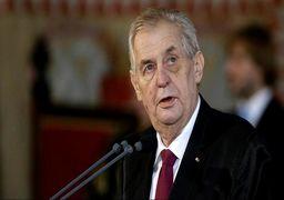 شوخی رئیس جمهوری چک با خبرنگاران: برای ضیافت به سفارت عربستان بروید
