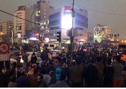 تجمعات پراکنده دیروز در خیابان انقلاب و چهارراه ولیعصر + عکس