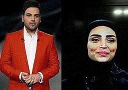 کشف حجاب میهمان برنامه احسان علیخانی در دوبی + عکس