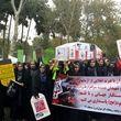 تابوت دونالد ترامپ بر دوش دختران دانشآموز ایرانی تشییع شد + عکس