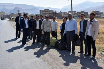 نخستین همایش پاکسازی و جمع آوری زباله منطقه آزاد ماکو