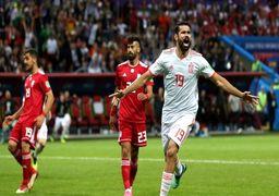 اسپانیا 1 - ایران صفر/ باخت قهرمانانه تیم ملی مقابل ماتادورها