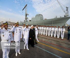 رونمایی از زیردریایی فاتح با حضور رئیسجمهور