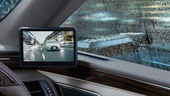 دوربین هایی که جایگزین آینه بغل لکسوس شده اند + عکس