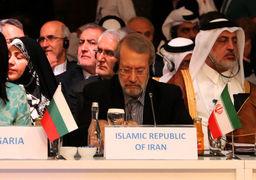 لاریجانی: تنها مردم یمن حق تصمیمگیری در مورد آینده کشور خود را دارند/لزوم ایستادگی در مقابل یکجانبهگرایی آمریکا