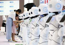 کنفرانس جهانی رباتها در چین +تصاویر
