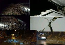 تصاویری از زلزله 6.3 ریشتری دیشب کرمانشاه
