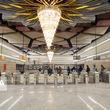 گزارش تصویری ایستگاه مترو برج میلاد تهران