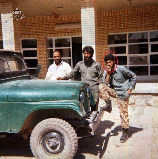 تصویر دیده نشده از سردار سلیمانی در دوره آموزش نظامی