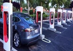 تسلا برای توسعه خودروهای برقی ایستگاه شارژ رایگان میسازد