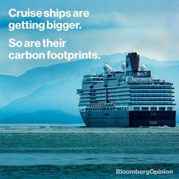 آلودگی هوا در کشتیهای کروز همسان با آلودگی شهرهاست