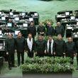 تصاویری از نمایندگان با لباس سپاه پاسداران در صحن علنی مجلس