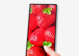 رونمایی از یک گوشی موبایل با نمایشگر بدون لبه