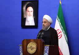 اشاره روحانی به اختیارات محدود دولت در سیاست خارجی