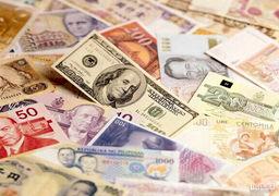 دلار در برابر ارزهای مهم جهانی عقب نشینی کرد