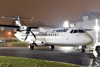 نخستین هواپیمای سبک برجامی در مهرآباد به زمین نشست