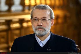 لاریجانی: به کاندیداتوری مجلس حتی فکر هم نکردهام +فیلم