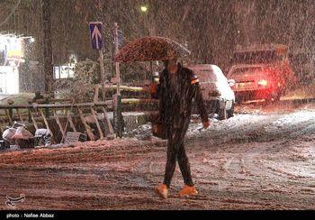 ورود سامانه بارشی جدید به کشور/ بارش برف و باران در برخی استانها