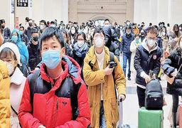 هجوم مردم ایران برای خرید ماسک از ترس کرونا +عکس