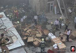 آتشسوزی در خیابان لاله زار