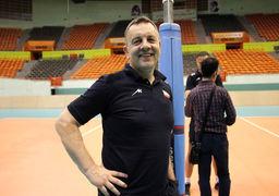 سرمربی خارجی تیم ملی والیبال ایران پرسپولیسی است +عکس