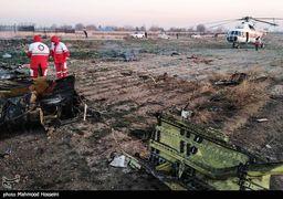 هواپیمای اوکراینی در منطقه خالی از سکنه سقوط کرده  و به خانههای اطراف محل خسارتی وارد نشده