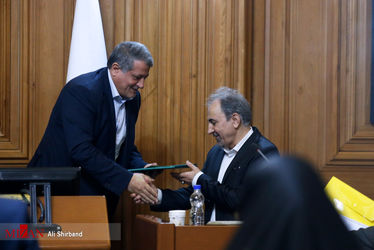 ادای سوگند شهردار تهران در جلسه امروز شورای شهر