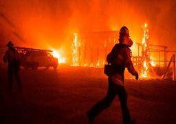 وضعیت قرمز برای 26 میلیون از ساکنان غرب آمریکا +فیلمهای آتشسوزی گسترده در کالیفرنیا و آریزونا