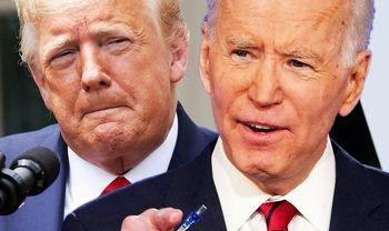 پیروزی بایدن بر ترامپ در مناظره انتخاباتی براساس نتیجه یک نظرسنجی