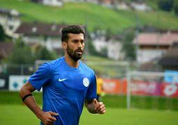 تیپ شگفتانگیز  فوتبالیست جنجالی ایران +عکس
