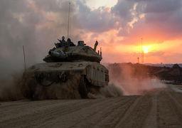 حرکت تانکهای اسرائیل به سمت مرز سوریه