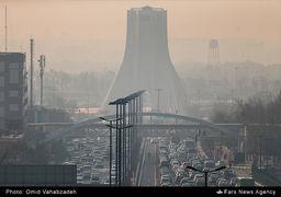 یک روز معمولی هوای تهران!