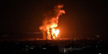 فوری/حمله اسرائیل به غزه